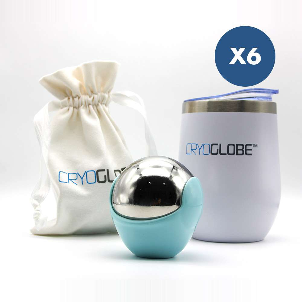 CryoGlobe containers x6